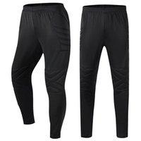 Men's Pants Goalkeeper Men Soccer Breathable Sports Training Trousers Adult Futbol Sponge Protective