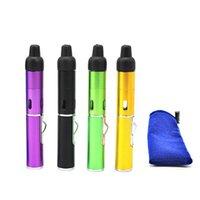 click N Vape sneak a toke vaporizer pen Smoking Metal pipes for smoking dry herb Vaporizer tobacco torch butane gas torch