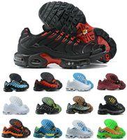 Plus TN Se Mens Running Shoes Topography Pack Spider Web Triple Black Red Orange Gradient White Pastel Blue Woraldwide Men Sports Trainers Sneakers