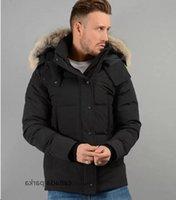 21ss 겨울 아래로 파카 남자 Jassen Daunejacke Wyndhams outwear 큰 모피 후드 코트 이탈리아 북극 자켓 남자 homme doudoune manteau