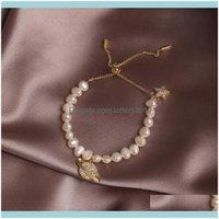 Charm Jewelrycharm Bracelets Charms Natural Baroque Pearl Planet Pendant Bracelet For Women Genuine Wedding Birthday Jewelry Gift Evil Eye D