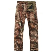 Мужские брюки мужские TAD военные тактические грузовые акулскинские боевые брюки длинные дышащие водонепроницаемые боевые брюки