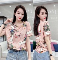 Summer Mens Designer T Shirt Casual Man Womens Loose Tees With Letters embroidery Short Sleeves Top Sell Luxury S-3XL