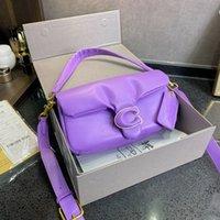Luxurys дизайнерские сумки чисто подушка 2021 в форме овчины Одиночная плеча сумка мессенджер мода таббийки сумки BB