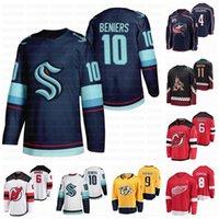 2021 Projekt 4 Corson Culumans 6 Luke Hughes 8 Simon Edvinsson Hockey Jersey 9 Fedor Svechkov 10 Matty Beniers 11 Dylan Guenther
