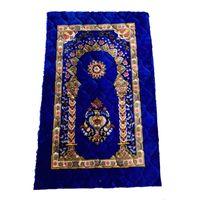 Addensare in cashmere Preghiera Musulmani Tappeti di fascia alta ciniglia culto tappeto 110 * 70 cm Islamic Musallah tappeti Arab antiscivolo Mat Zyy999