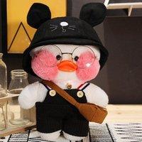 30cm Kawaii Plushie Lalafanfan Yellow Duck Stuffed Toys Soft Cute Plush Alpaca Doll Toys for Kids Girls Birthday Gift Home Decor