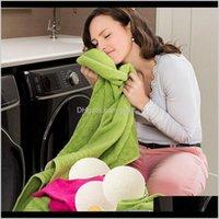 Inne produkty Odzież Racks Sprzątanie Organizacja Home Garden Drop Dostawa 2021 6 SZTUK Pralnia do prania Hine Premium Wool Dryer