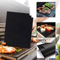 Tools & Accessories Outdoor BBQ Grill Mat Picnic Non-toxic Safety Oven Steamer Pizza Reusable Non-stick Heat Resistance Barbecue Baking Shee