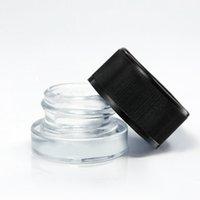 Barattolo di vetro per bambini DAB 5ml 3ml Container E-sigaretta E-sigaretta bottiglia vuota Estratti di concentrato di contenitori di cera I barattoli di grado di qualità Supporto logo personalizzato