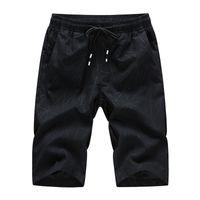 Holzvoice sommer männer shorts atmungsaktiv lässig männlich knielang herren kurze hosen para hombre größe m-4xl männer