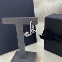 STAND S925 Sterling Silver Octobre Bague à broches simples pour femmes Gold Bijoux de conception simple et haut de gamme