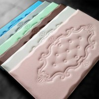 Wallpapers Faux Leather PE Foam Waterproof Self Adhesive Wallpaper For Living Room Bedroom Kids TV Wall Paper Home Decor