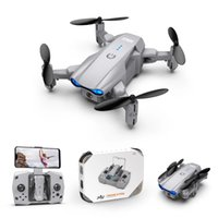 KY906 MINI DRONE WIFI FPV Quadcopter plegable DRON One-Key Devolver 360 Rolling RC Helicóptero UAV Juguetes para niños para principiantes