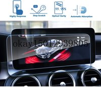 GPS Car Navigation Screen Protector for Benz C-Class W205 2019 10.25 Inch,Tempered Glass 9H Hardness Protective Film