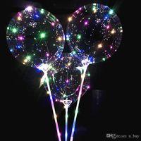 Palloncini LED luminosi illuminati per bambini giocattoli di compleanno festa decorazioni di nozze decorazioni lampeggianti di corde giocattoli