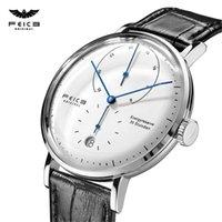 디자이너 럭셔리 브랜드 시계 남자 기계 남자 자동 Bauhaus 손목 방수 패션 크리 에이 티브 간단한 relogio masculino-fm202