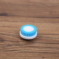 Professional hair planting two-color cleanser head washing cleaning small soft brush