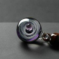 الزجاج قلادة قلادة فريدة الكون غالاكسي الكواكب lampwork مجوهرات للنساء رجل القلائد
