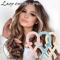 2021 Heatless Curling Rod Headband Lazy Curler Set Hair Rollers Sleeping Soft Headband Hair Curlers DIY Hair Styling Tools