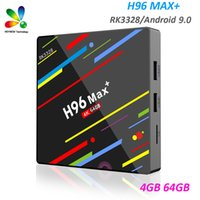 H96 Max plus Android 9.0 Smart TV Box Rockchip RK3328 4GB 64GB Dual Wifi BT4.0 Smart TV Box H96 Max+