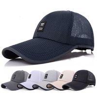 Hat summer Hat Men's hat outdoor Mesh Baseball men's sun travel shade cap