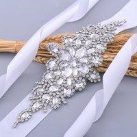 Handmade Stunning Rhinestone Belt Wedding Belt Accessories Bride Bridesmaid Bridal Sash Belt For Evening Party Prom Gown Dress