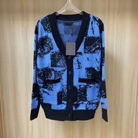 Luxury Womens Classic Knit Cardigan Ladys Sweaters Designer Women Casual Letter Print Long L Clothing Sweater New V-neck Fashion Style Spring Autumn