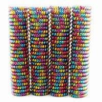 Lotes 100 PCS Mujeres Niñas Tamaño 5,5 Cm Bandas de pelo colorido Elástico Teléfono de goma Lazos de alambre de la cuerda plástica Primavera