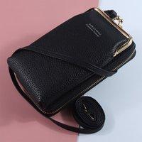 Wallet PU Small Crossbody Shoulder For Mini Bag Bags Messenger Ladies Women Girls Phone 006 Leather Purse Cute Zipper Flap Fashion Bxpfe