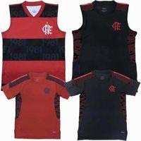 2021 2022 CR Flamengo Gilet maglie da calcio Diego Gabi de Arrascaeta Tank Top Home Away 20 21 22 T-shirt sportiva senza maniche da calcio