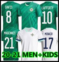 20 21 أيرلندا الشمالية لكرة القدم جيرسي Lafferty 2021 للبالغين الرجال + أطفال أطقم ديفيس ماجنس إيفانز ماكنير بويس لكرة القدم