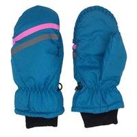 Ski Handschuhe Winter Warme Snowboarding Kinder Kinder Schnee Fäustlinge Wasserdichte Skifahren Atmungsaktive Luft S / M / L zum Schlagen Wandern
