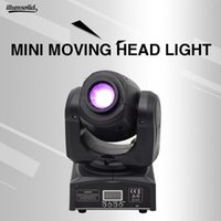 Effects Mini 10w Moving Head Light Led Prism Rotating Disco Lamp Gobo