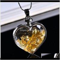 Pendenti Wishing Bottiglia Bottiglia Reiki Collana Stone Natural Stone Crush Pendente Romantico Love Nascita Qylwxu UD0YB R7FIB