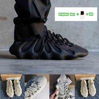 [Orijinal Kutu + Çorap + Tag] Justin Bieber Kanye Same style Men's Women's Adidas Yeezy 450 Cloud White Black Samurai Dark Slate Knitted Socks Upper Casual Sports Running Shoes