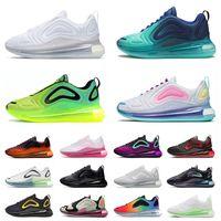 Nike AIR MAX 720 Airmax أحذية  احذية رجالية Be True Sea Forest Triple White Black Bubble Pack Grand Purple Pink Wolf Grey Volt Green احذية المتدربين الرياضية