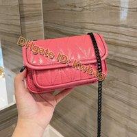 2021 donne classiche cellphone hangbag borse borse di alta qualità capreskin borsa a tracolla di moda lussurys designer croce body borse a messenger lembo mini portafoglio tasca