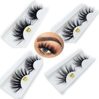 False Eyelashes 1 Pair Cruelty-free 25MM Lashes 3D 100% Mink Hair Thick Long Wispy Fluffy Handmade Makeup Tools