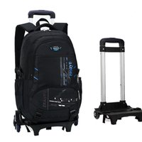 حقائب مدرسية حقيبة الظهر العجلات للأطفال، حقيبة مع 2 SBAG قابل للإزالة