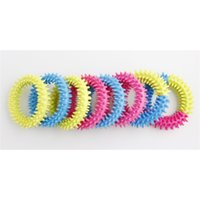 Fidget Toys Spiky Sensory Ring decompression chain 3 color Barbed bracelet Stress Anxiety Relief Squeeze Stretch Finger Game Toy HHC7459
