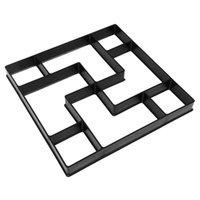 Moule de pavage durable 1PC outil de modélisation de bricolage pratique pour le sol de ciment Utilisez d'autres bâtiments de jardin
