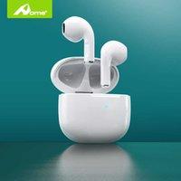 Los verdaderos auriculares de Bluetooth inalámbrico con micrófono auriculares auriculares TWS en brotes de oídos auriculares sin cable para iPhone