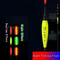 Fishing Accessories Smart LED Float Electronic Buoy + USB Charger Fish Bite Automatic Color Changing Night Tackle