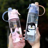 Summer Spray Ugello Bambino Bottiglia per bambini 600ml Pol in plastica PP Materiale Bambini Panoramica Coppa Paglia Tipo di paglia
