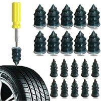 10pcs Nails en caoutchouc Pneu à vide Pneu à ongles Bouchon à ongles Poncé Joints de réparation de la moto pour voiture Vélo Vélo TIRE Kits de réparation Tools