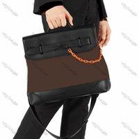 Cartella da uomo portatile Borsa a tracolla ad alta capacità ad alta capacità Borsa da stilista Borse in pelle Quadrato Pelle Quadrato preferito Multi Pochette