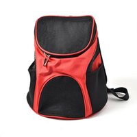 Dog Car Seat Covers Pet Carrier Backpack Portable Breathable Foldable Teddy Cat Bag