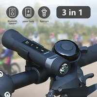 Bike Speaker 4 in 1 Wireless Speakers Bluetooth Outdoor Sport Bicycle FM Radio LED Bikes Light Lamp Riding Music Loudspeaker Sound System