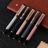 نافورة الأقلام العلامات التجارية التوقيع المعادن القلم الرائدة الأعمال جوهرة القلم المعادن القلم القرطاسية